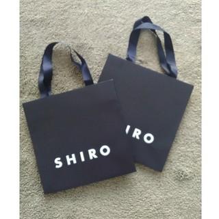 シロ(shiro)のshiro ショッパーバッグ ショップバッグ ショップ袋(ショップ袋)