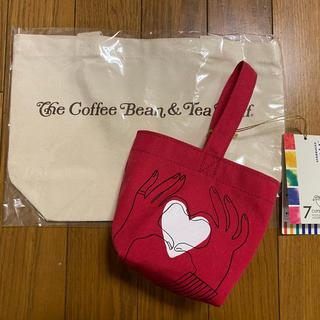 スターバックスコーヒー(Starbucks Coffee)のスターバックス+コーヒービーン&ティーリーフ ミニトート ティバーナ(ノベルティグッズ)