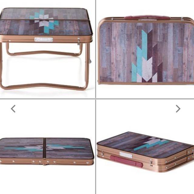 Coleman(コールマン)のコールマン ミニテーブル  インテリア/住まい/日用品の机/テーブル(アウトドアテーブル)の商品写真