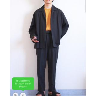 コモリ(COMOLI)の【美品】Auralee 19ss ウールシルクトロピカルジャケット スラックス(セットアップ)