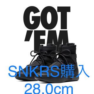 ナイキ(NIKE)の早いもの勝ち★NIKE AIR FEAR OF GOD TRIPLE BLACK(スニーカー)