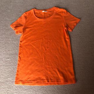 UNIQLO - ユニクロ エクストラファインコットン 半袖 Tシャツ オレンジ