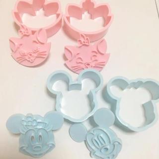 ディズニー(Disney)のミッキー ミニー マリー クッキー型(調理道具/製菓道具)