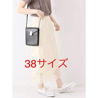 Spick and Span - Spick& span  ラッセルレーススカート (38サイズ)