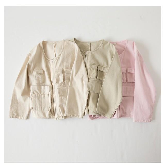 SeaRoomlynn(シールームリン)のシールームリン SECRET POCKETジャケット レディースのジャケット/アウター(ノーカラージャケット)の商品写真