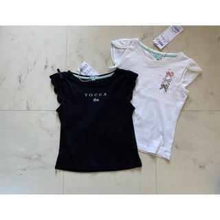 トッカ(TOCCA)のtocca bambini 新品タグ付き Tシャツ 2枚セット 100 トッカ(Tシャツ/カットソー)