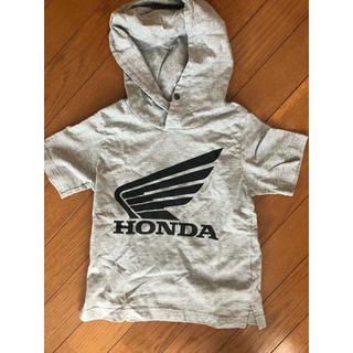 ジーユー(GU)のGU HONDA フード付きTシャツ 110cm(Tシャツ/カットソー)