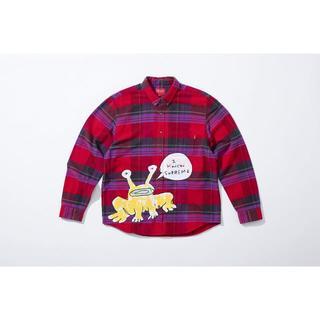 シュプリーム(Supreme)の込み Supreme Daniel Johnston Plaid Shirt M(シャツ)