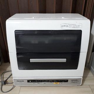 パナソニック(Panasonic)の美品 パナソニック食器洗い乾燥機 調理器具コース、エコナビ 搭載 NP-TR6(食器洗い機/乾燥機)