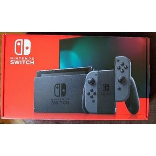 新品Nintendo Switch Joy-Con(L)/(R) グレー (家庭用ゲーム機本体)