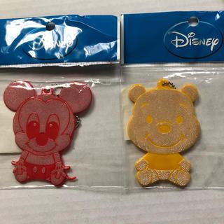ディズニー(Disney)のディズニー 反射板 キーホルダー(キャラクターグッズ)