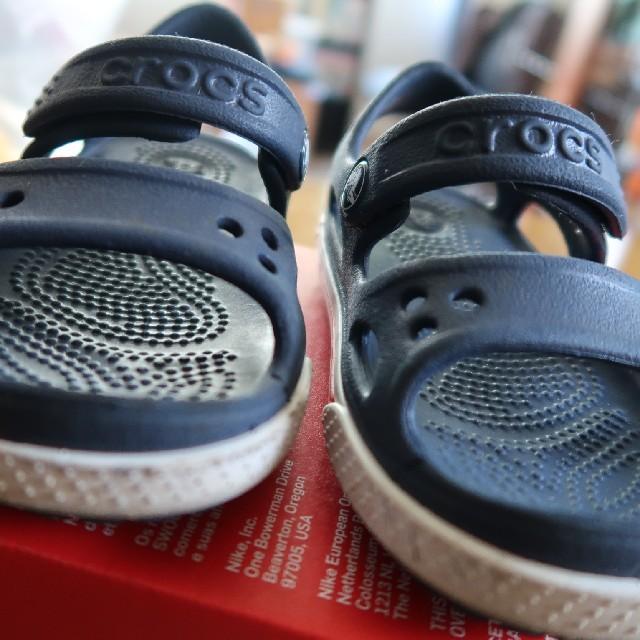 crocs(クロックス)のクロックス サンダル 14cm キッズ/ベビー/マタニティのキッズ靴/シューズ(15cm~)(サンダル)の商品写真