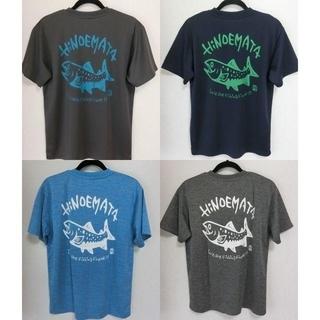 イワナTシャツ ドライ素材 XXL 大きいサイズ(Tシャツ/カットソー(半袖/袖なし))