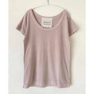 BEAUTY&YOUTH UNITED ARROWS - FABRIQUE en planete terre コットンTシャツ ピンク