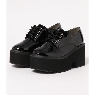 アールアンドイー(R&E)のR&E 厚底(ローファー/革靴)