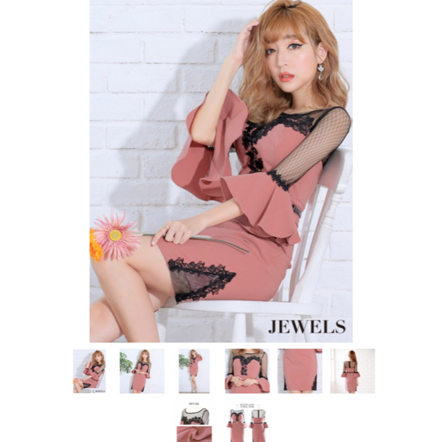 JEWELS(ジュエルズ)のJEWELS ドレス レディースのフォーマル/ドレス(ナイトドレス)の商品写真