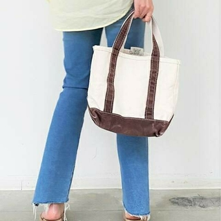 アパルトモンドゥーズィエムクラス(L'Appartement DEUXIEME CLASSE)の新品【L.L.Bean /エル・エル・ビーン】Canvas tote bag S(トートバッグ)