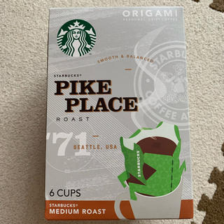 スターバックスコーヒー(Starbucks Coffee)のスタバ オリガミコーヒー(コーヒー)