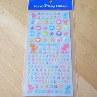 ディズニー(Disney)のTDR アルファベット シール(シール)