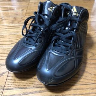 アディダス(adidas)のアディダス 野球 スパイク ジュニア 24.0センチ(シューズ)