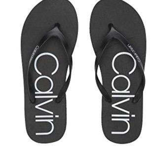 Calvin Klein - calvin Kevin 新品未使用 ビーチサンダル 黒 23.5cm