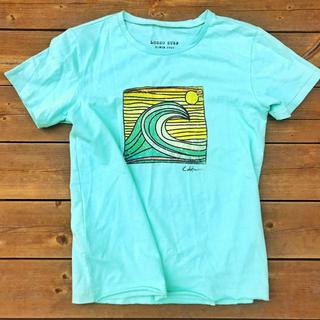 ロンハーマン(Ron Herman)のSafariコーデ☆LUSSO SURF レトロプリントTシャツ M RVCA(Tシャツ/カットソー(半袖/袖なし))