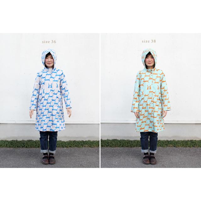 mina perhonen(ミナペルホネン)のミナペルホネン レインコート 大人 レディースのファッション小物(レインコート)の商品写真
