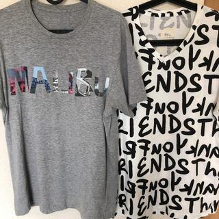 エム(M)のM エム Tシャツ  2着(Tシャツ/カットソー(半袖/袖なし))