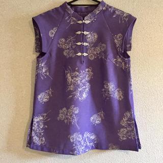 Lily Brown - リリーブラウン チャイナシャツ