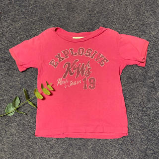 コドモビームス(こどもビームス)のBEAMS mini ビームスミニ Tシャツ ピンク 90(Tシャツ/カットソー)