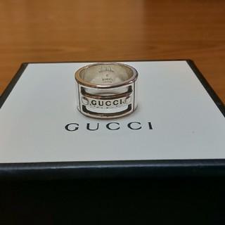 Gucci - GUCCI シルバー リング15号表記 14号