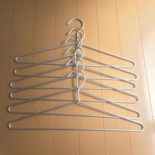 MUJI (無印良品) - 無印良品 アルミ 洗濯用ハンガー 40cm 6本