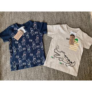 タグ付き新品❣️   半袖Tシャツ  90   2枚セット(Tシャツ/カットソー)