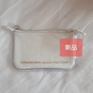 LOUIS VUITTON - フォンダシオンルイヴィトン クリアポーチ