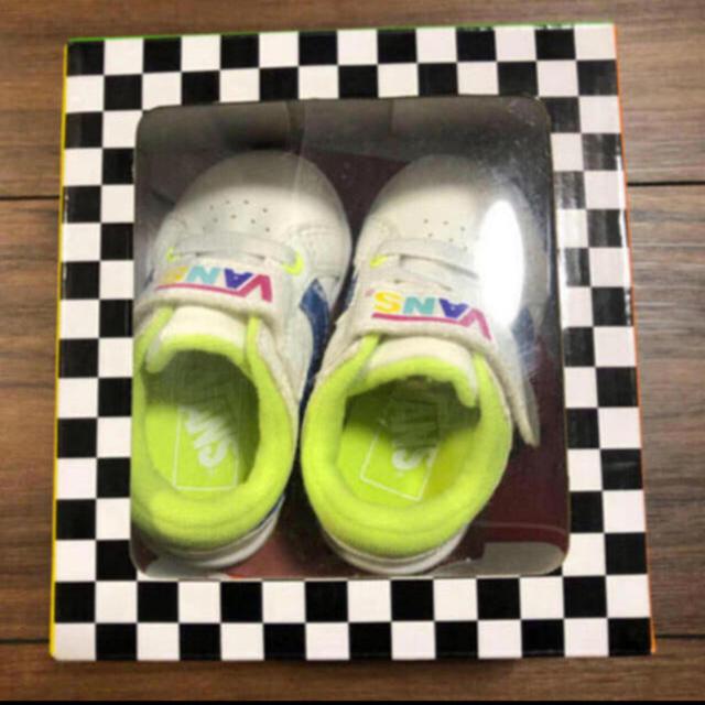 VANS(ヴァンズ)のVANS キッズシューズ キッズ/ベビー/マタニティのベビー靴/シューズ(~14cm)(スニーカー)の商品写真