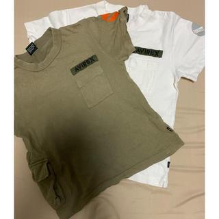 アヴィレックス(AVIREX)のアヴィレックスのシャツ 130㎝ 2枚(Tシャツ/カットソー)