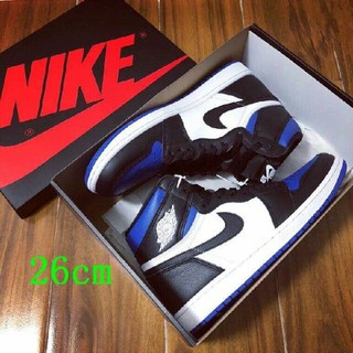 NIKE - AIR JORDAN 1 RETRO HIGH OG ROYAL TOE