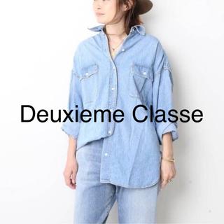 DEUXIEME CLASSE - 美品 ☆ Deuxieme Classe ☆ 2019SS デニム シャツ