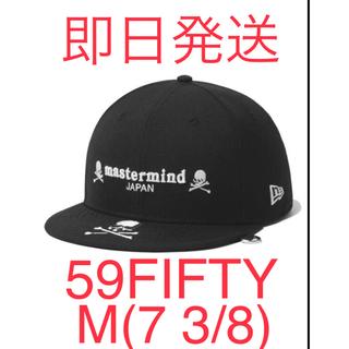 mastermind JAPAN - NEW ERA x MMJ NE100th 5950 BLACK 59FIFTY
