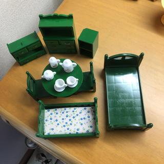 EPOCH - シルバニア  緑家具