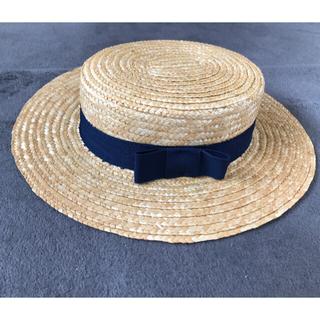 キャラメルベビー&チャイルド(Caramel baby&child )のtocoto vintage / strow canotier(帽子)