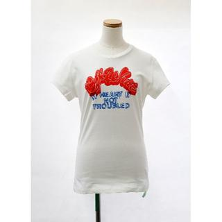オフホワイト(OFF-WHITE)のOff-White(オフホワイト)Heart Not Troubled Tシャツ(Tシャツ(半袖/袖なし))