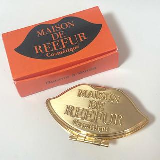 メゾンドリーファー(Maison de Reefur)のメゾンドリーファー リップケース ピルケース gold(その他)
