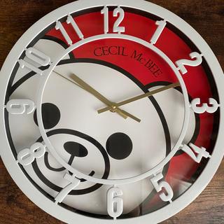 CECIL McBEE - セシルマクビー 掛け時計
