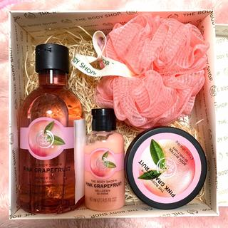 THE BODY SHOP - the body shop バスセット