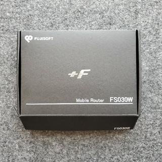 富士ソフト FS030W 新品未使用品