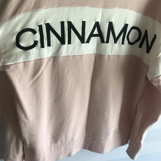 Honey Cinnamon(ハニーシナモン)のHoney Cinnamon ハニーシナモン  ハーフ ジップ スウェット   レディースのトップス(トレーナー/スウェット)の商品写真
