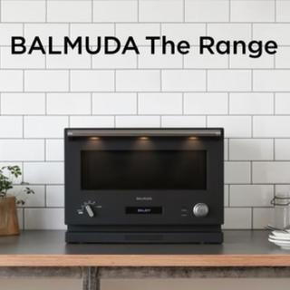 バルミューダ(BALMUDA)のバルミューダ レンジ The Range K04A-BKブラック balmuda(電子レンジ)