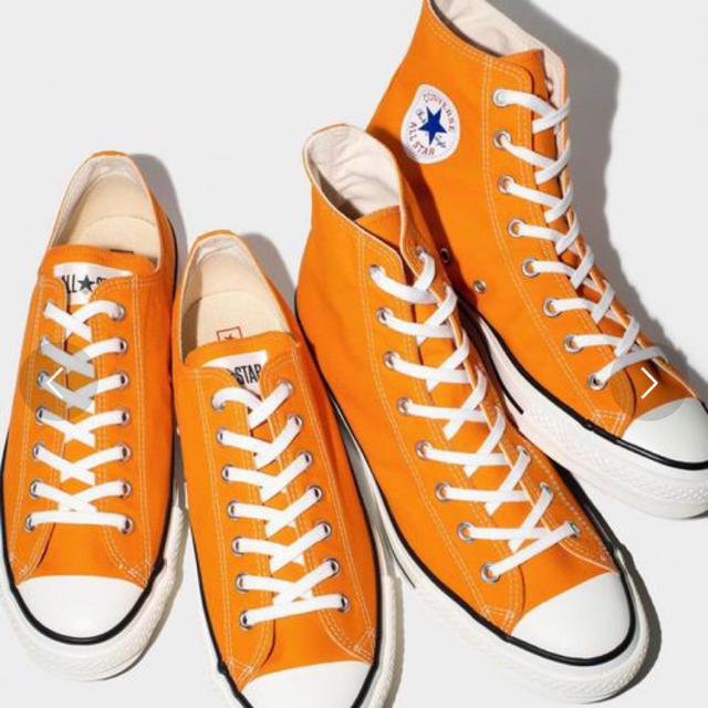 CONVERSE(コンバース)のコンバース オレンジ 23cm レディースの靴/シューズ(スニーカー)の商品写真