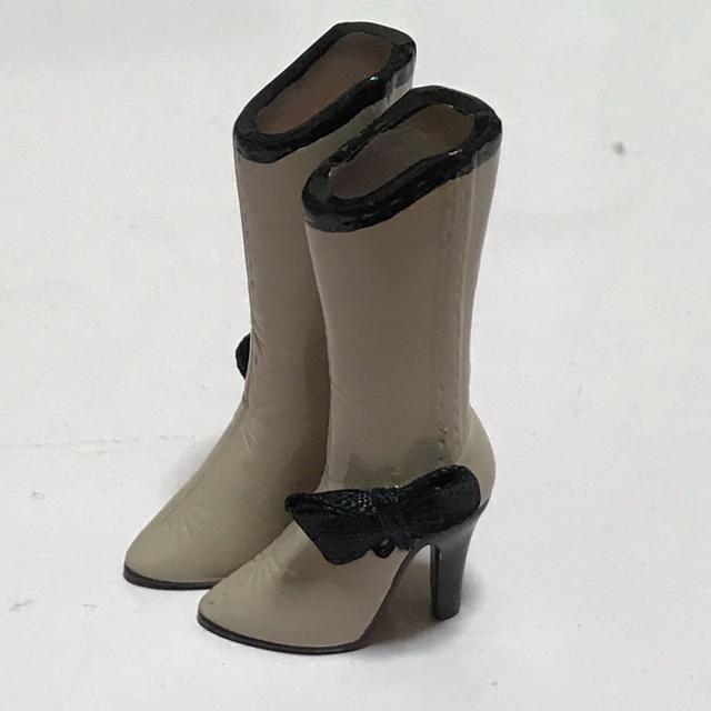 1/6ドール用靴 ブーツ ヒール レディースの靴/シューズ(ブーツ)の商品写真
